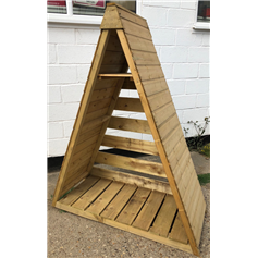 Pinnacle Log Store delivered assembled (Ex-display)