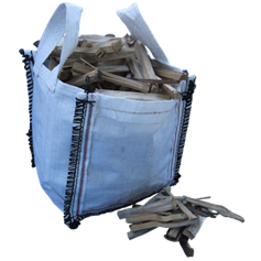 Kiln Dried Kindling in a Mini Bulk Bag (0.02m³)