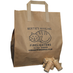 Waxling Firelighters in a Bag (80 pieces)